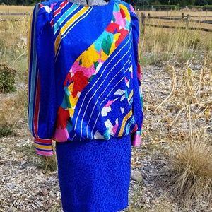 Dresses & Skirts - Vintage Silk Dress